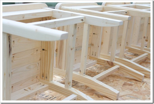 build dining room chairs high definition pics | DIY Farmhouse kitchen Chairs: Step-by-step building plans